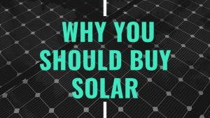 Our top 5 reasons why you should buy solar