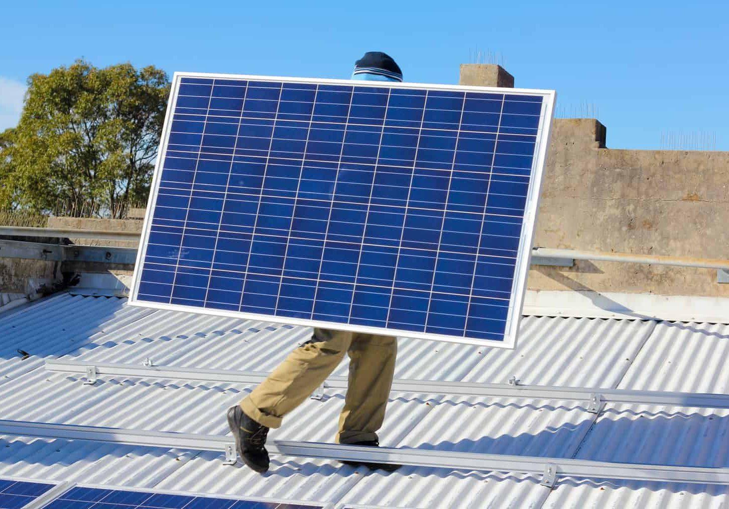 LuvSolar Newcastle Solar installation Visionary Health Pharmacy 1